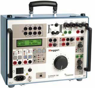 Programma Sverker 780 Relay Test Set