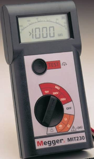 Megger MIT220 Insulation & Continuity Tester - *CALL FOR BEST PRICE*